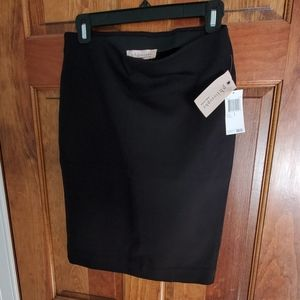 Philosophy Small Black fitted Skirt nwt